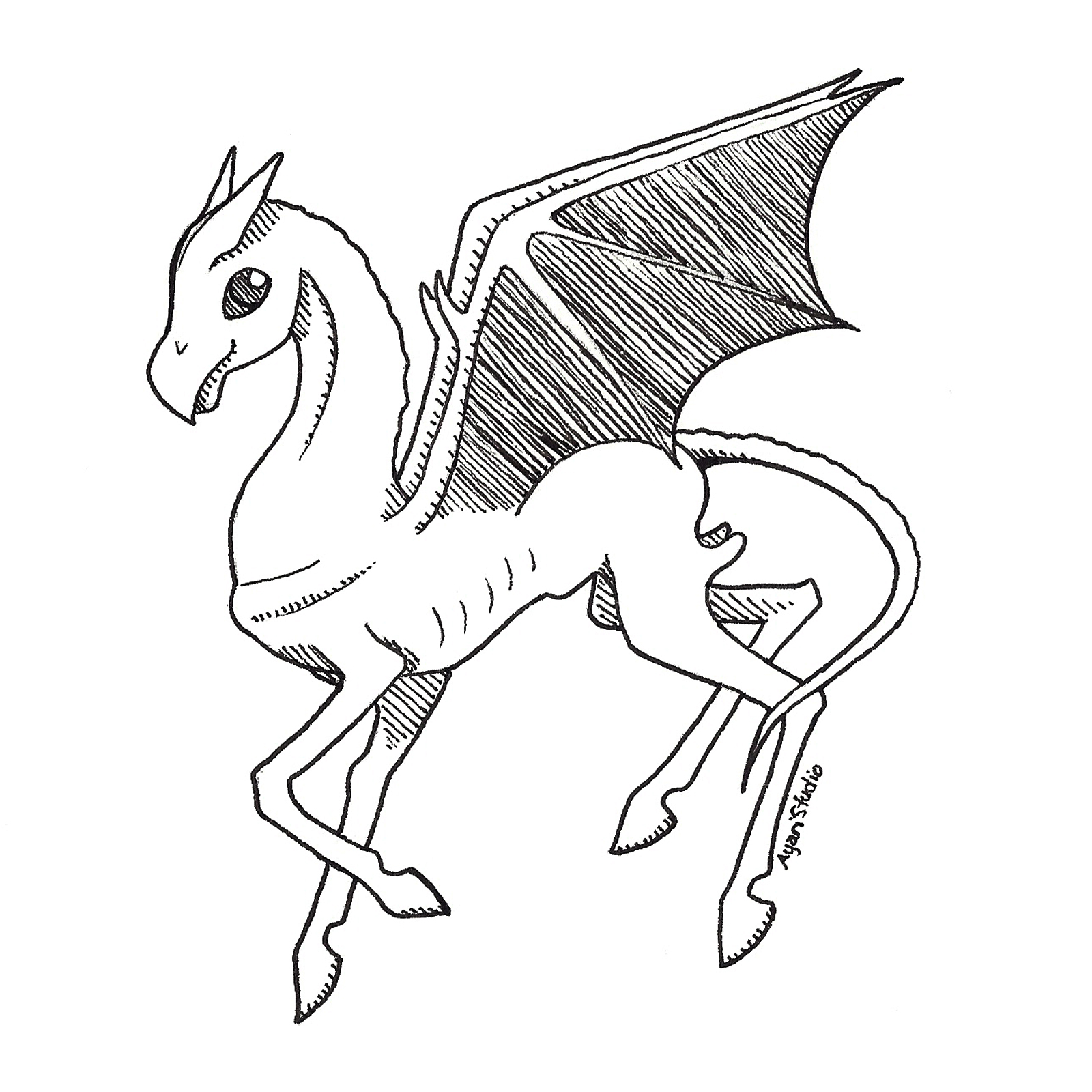 "Day 21 - ""Drain : Thestral"""