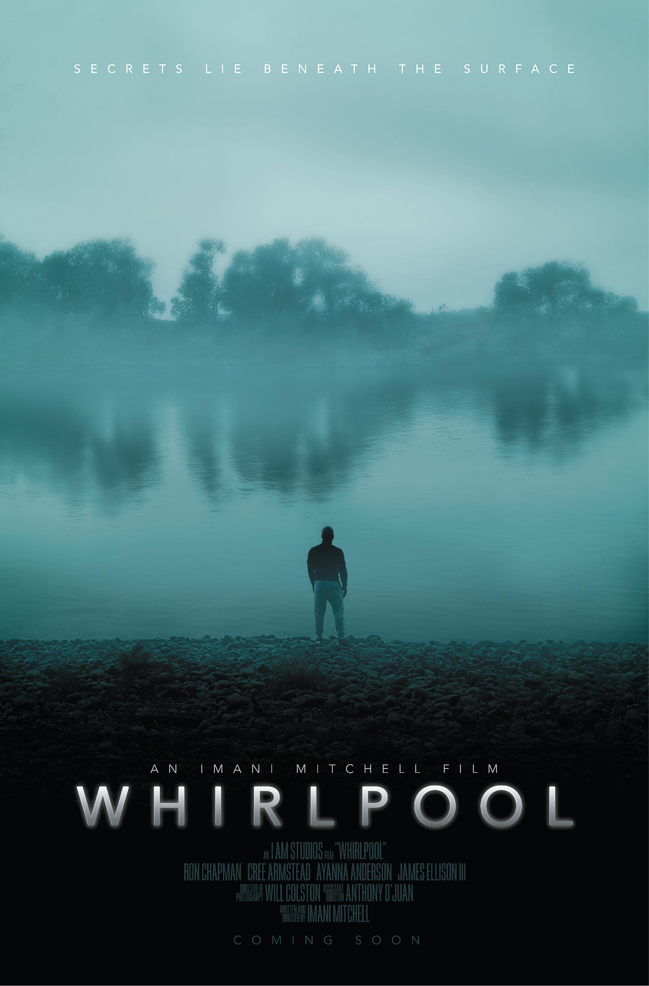"""""""Whirlpool""""  Poster design for suspense short film November 2018"""