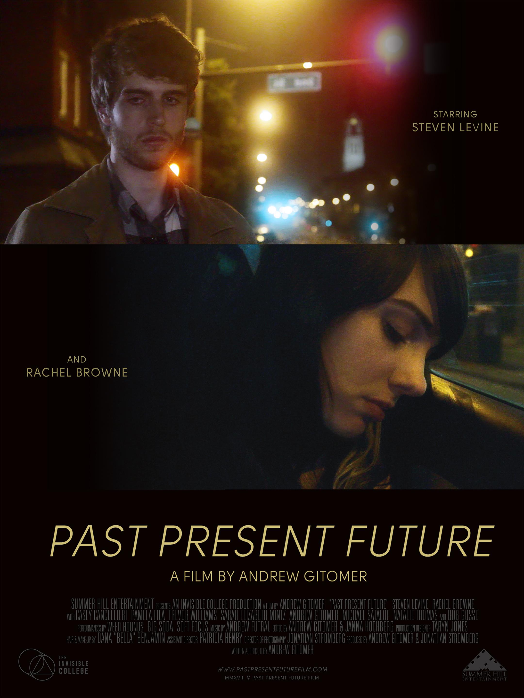 """Past Present Future"" Movie poster for romance film  November 2018"