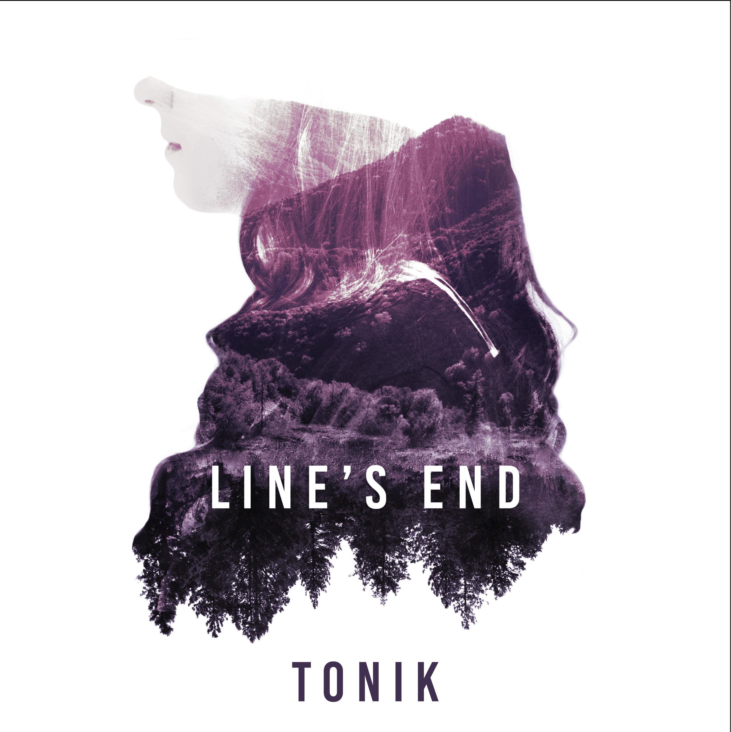 """Line's End"" December 2016  Album cover art"