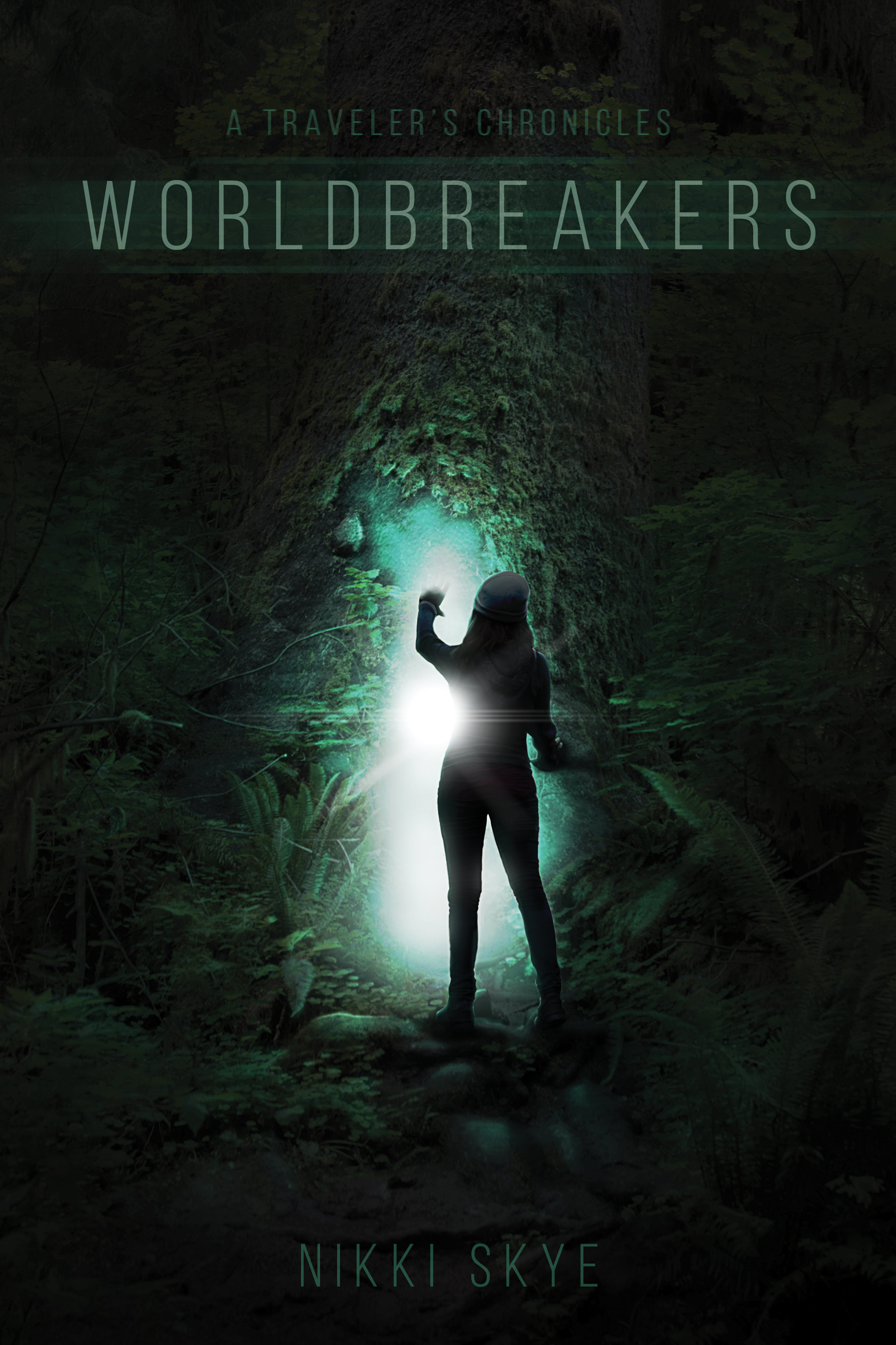 """A Traveler's Chronicles : Worldbreakers"" December 2018  Book cover art"