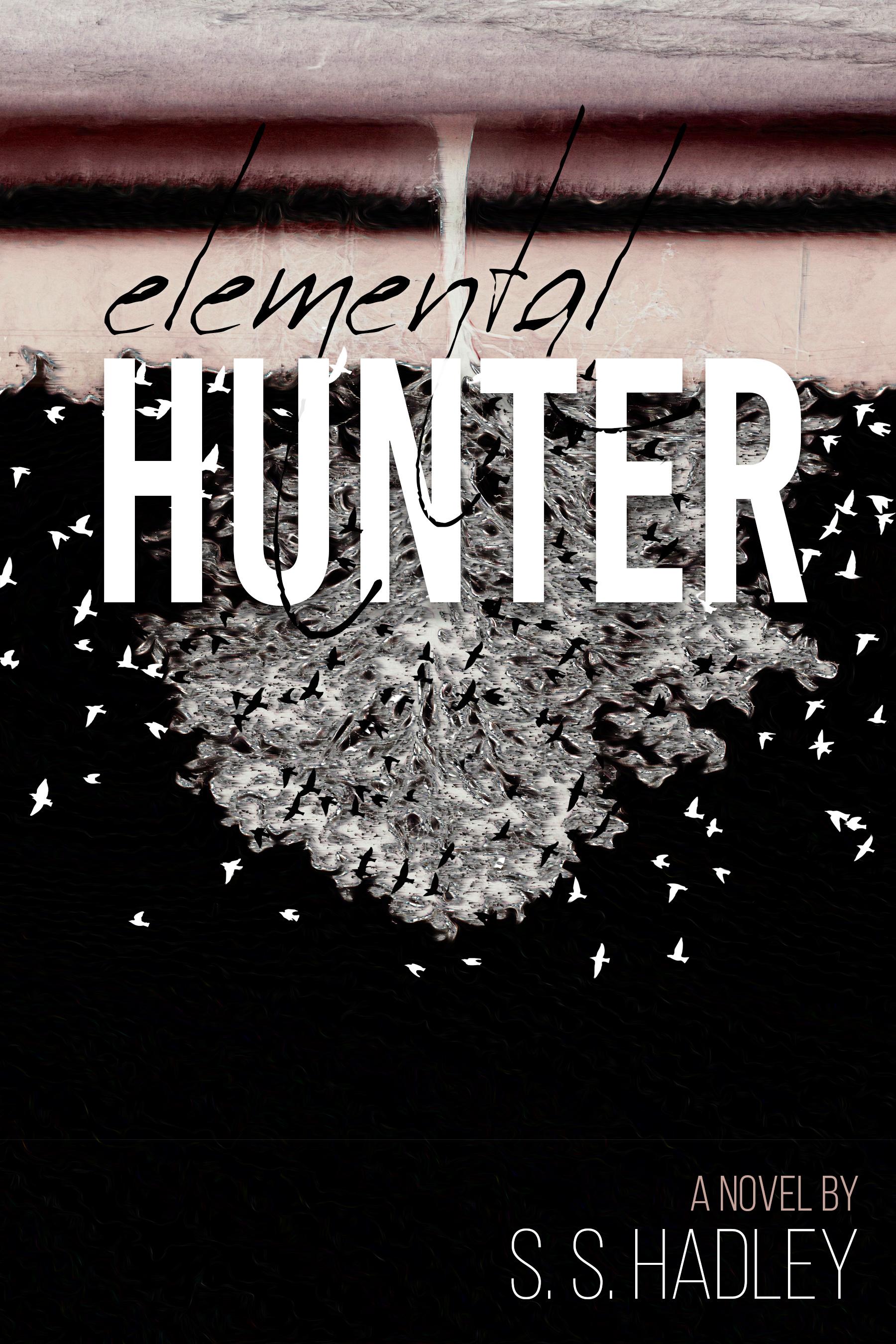 """Elemental Hunter"" February 2019  Book cover art"