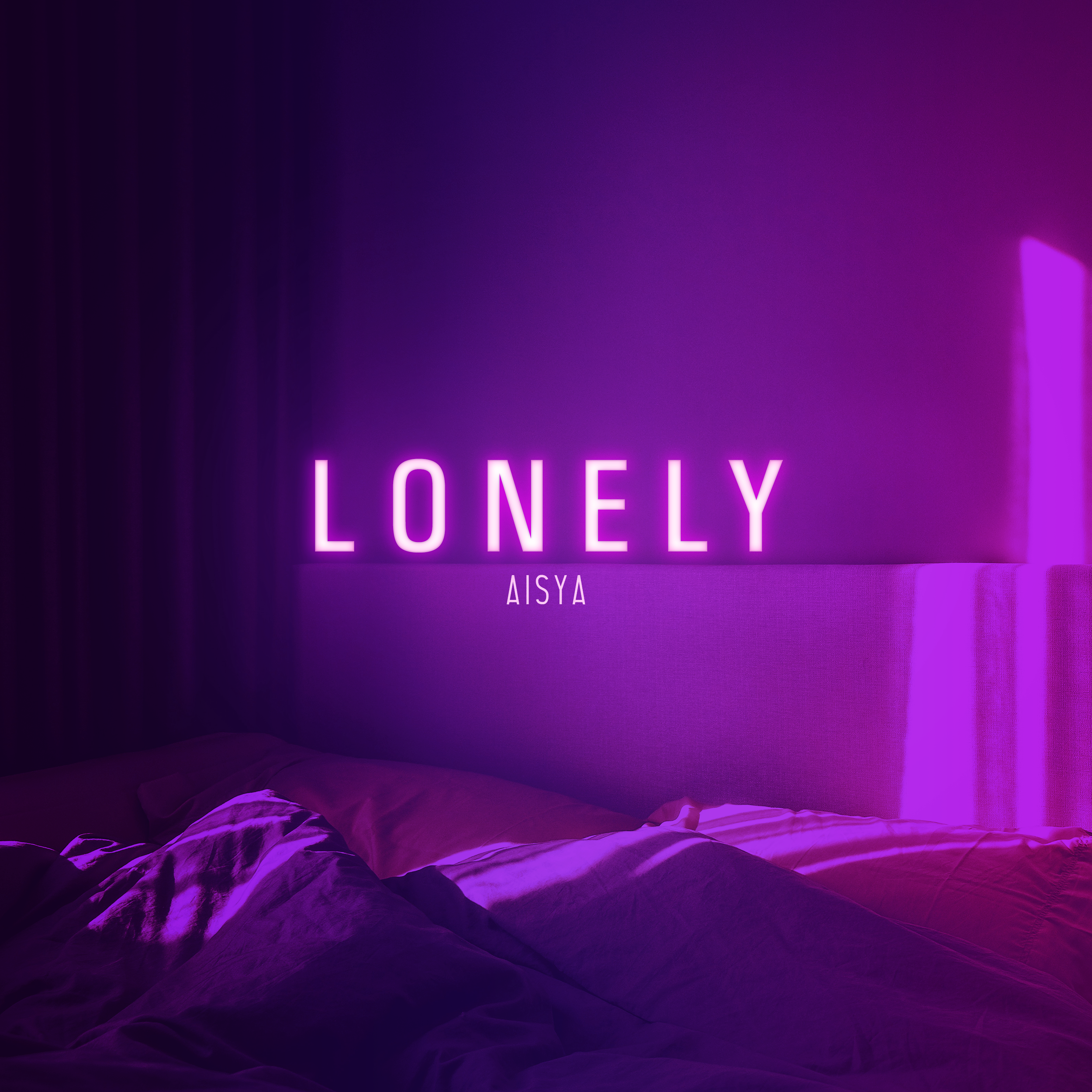 """""""Lonely"""" January 2019  Single cover art"""