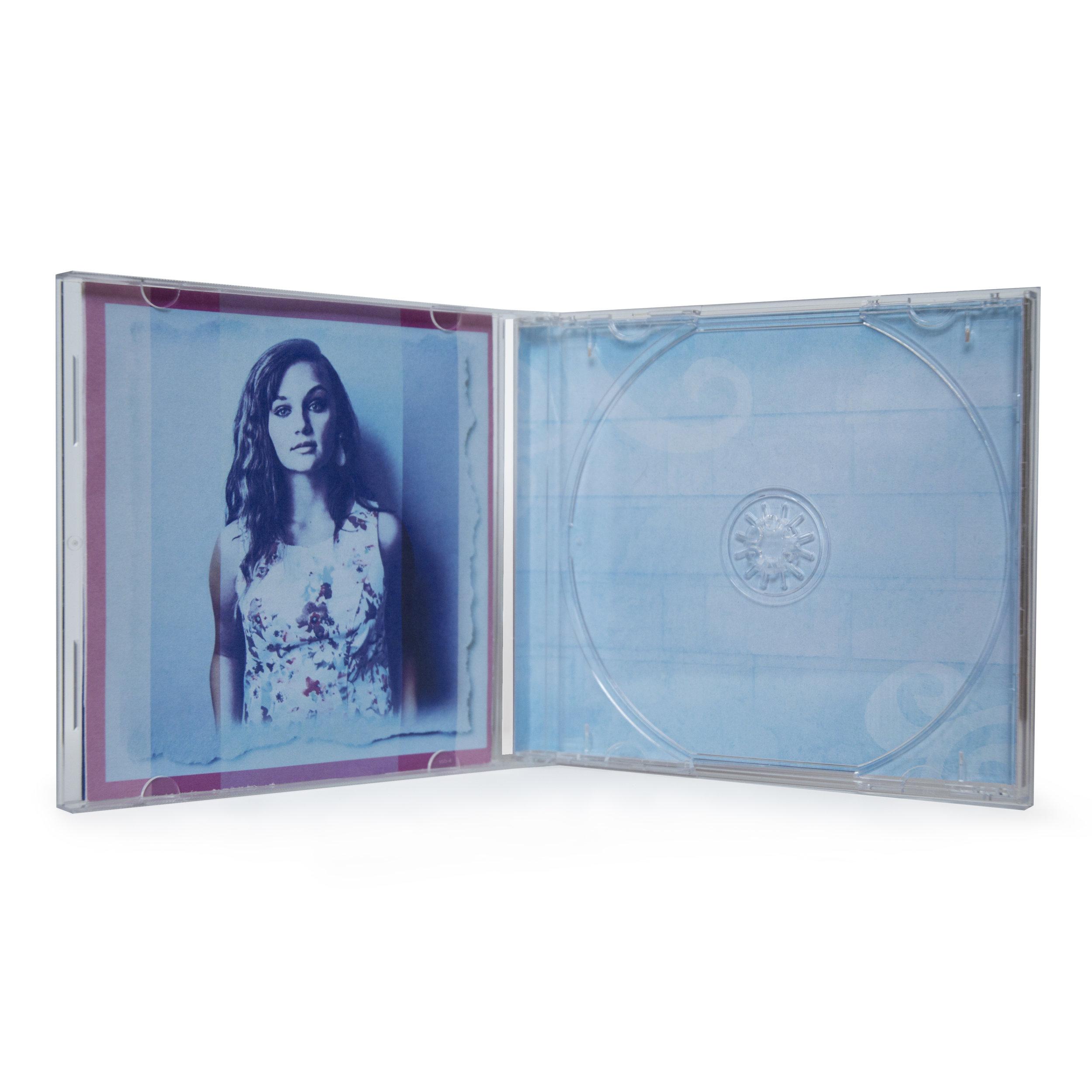 """""""Hollyn EP"""" - inside December 2015  CD inside art"""
