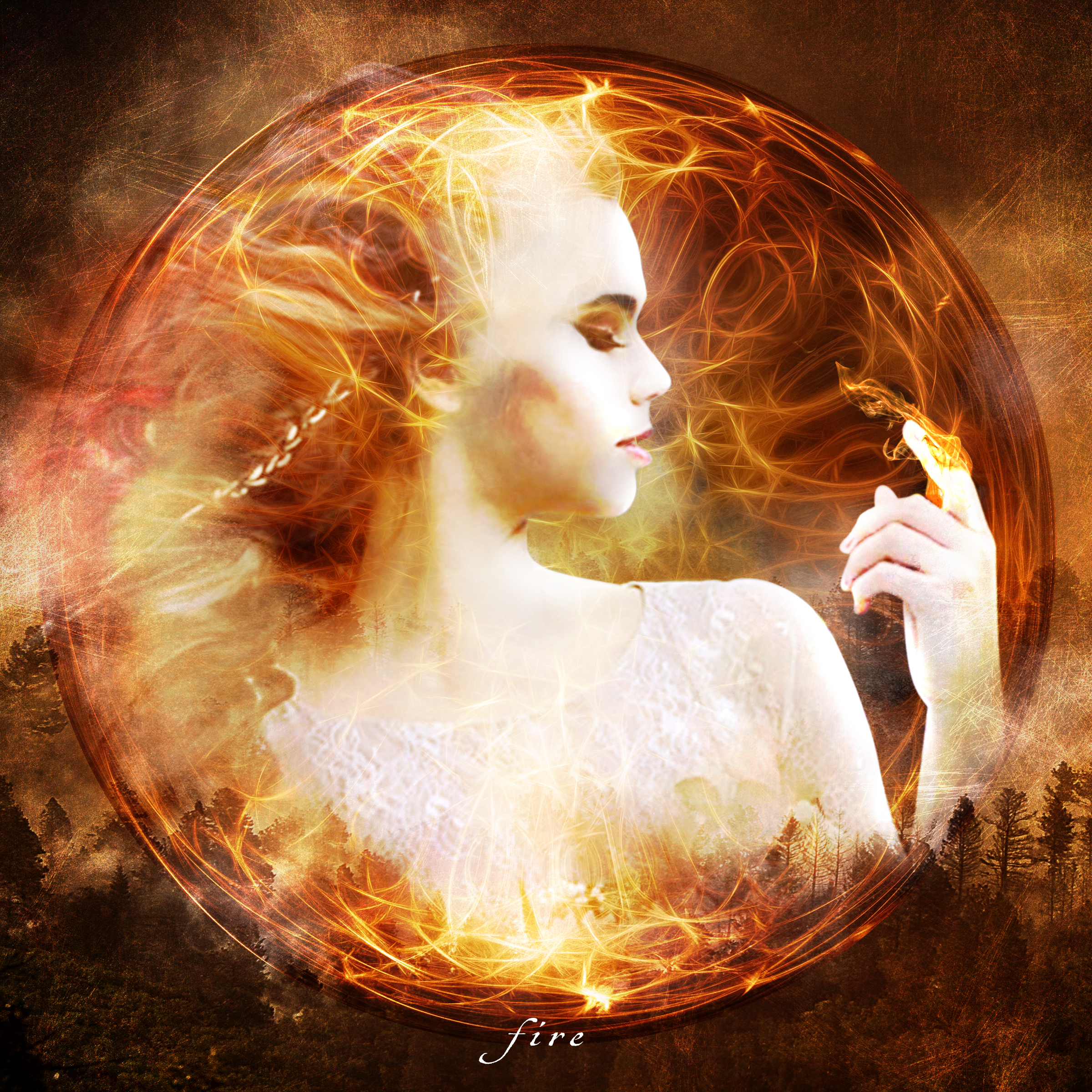 """""""Fire""""  Photo composite May 2019"""