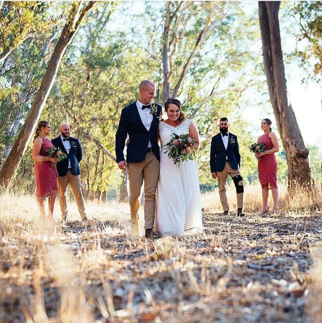 Image: Billie Leatham, Merton farm wedding