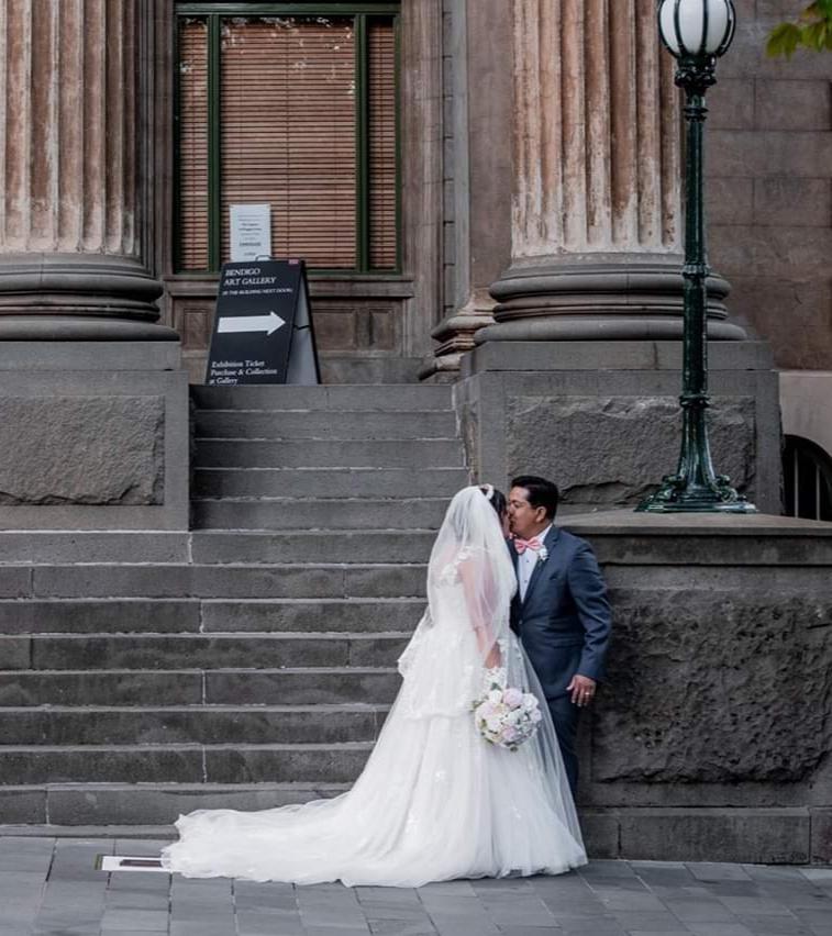 Image: AJ Taylor Images, Capital Theatre Bendigo wedding