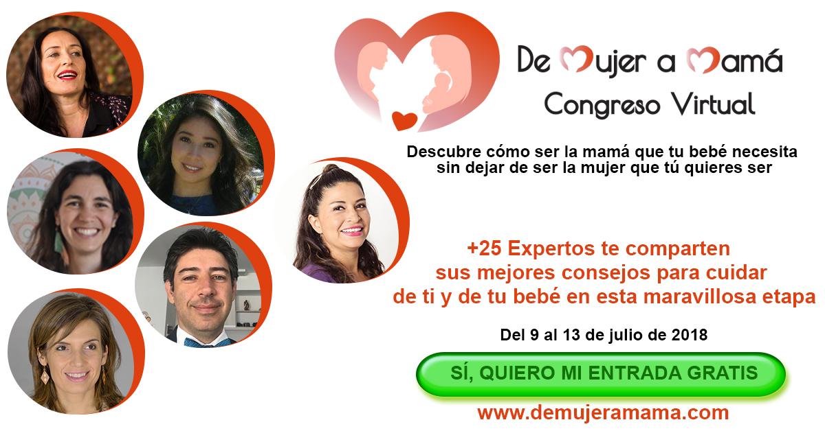 Liliana Amaro en el Congreso de Mujer a Mamá