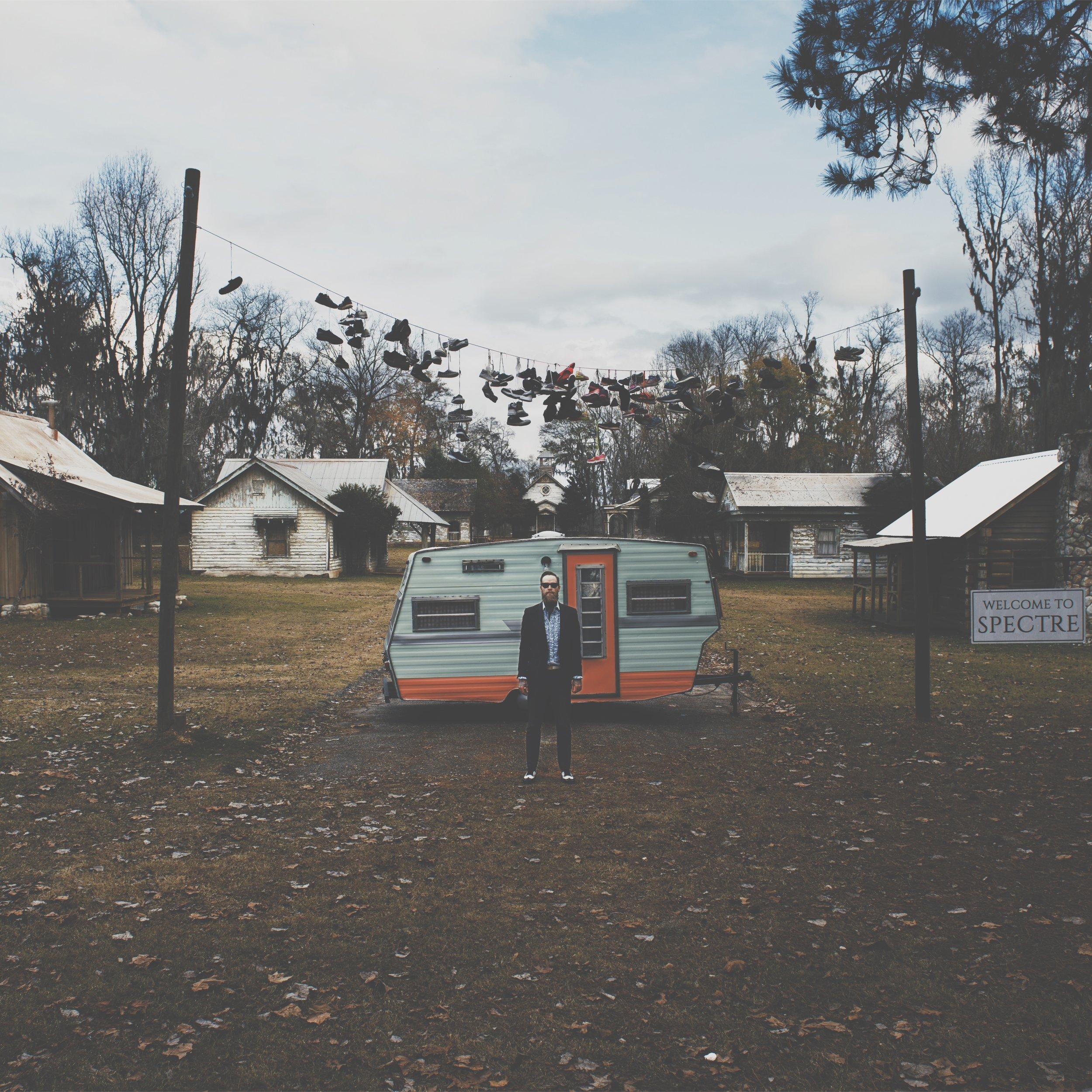 Tim Burton's town of Spectre aka Jackson Lake Island, Alabama