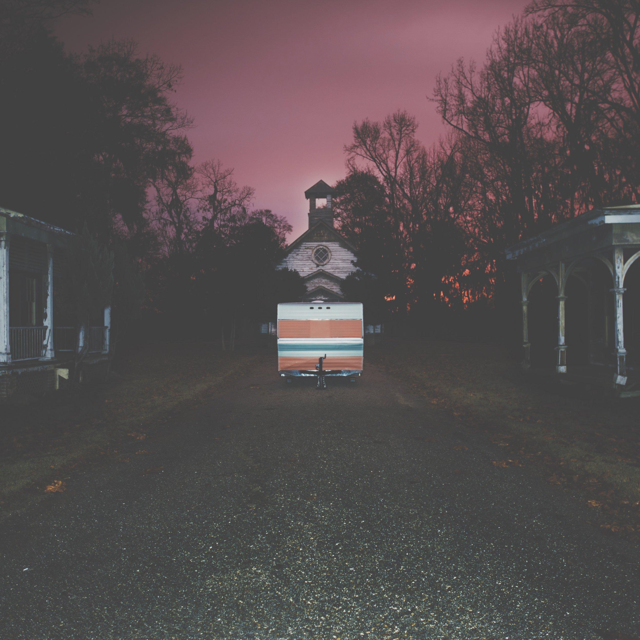A spooky long exposure