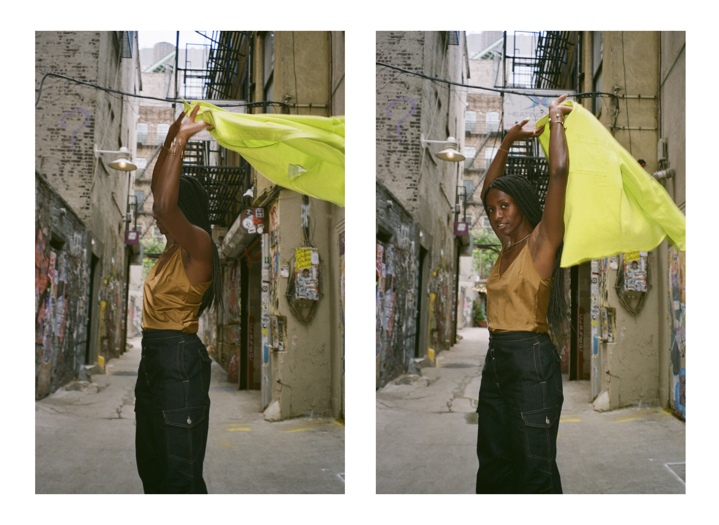 Flo Ngala by Nuvany David, styled by Yana Persaud