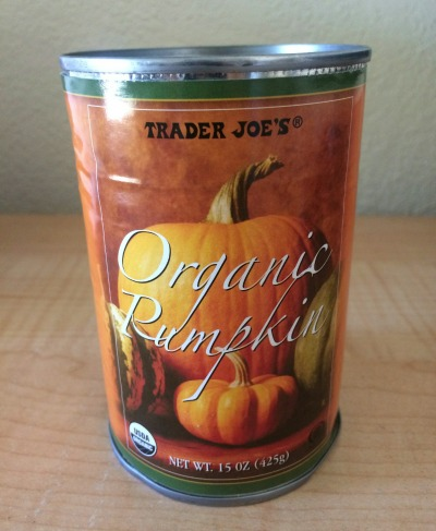 """Choose organic pumpkin (not """"pumpkin pie filling"""")"""