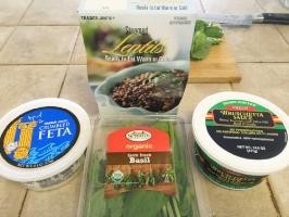 lentil bruschetta ingredients