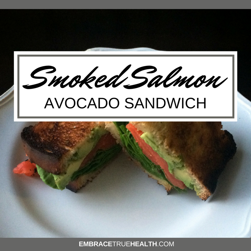 Salmon-Avocado-Sandwich