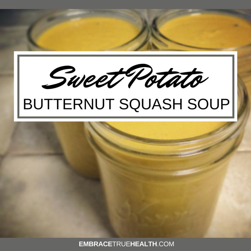 Sweet Potato Butternut Soup