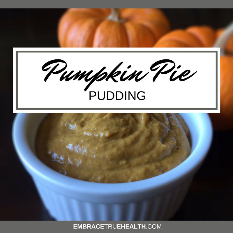 PumpkinPiePudding