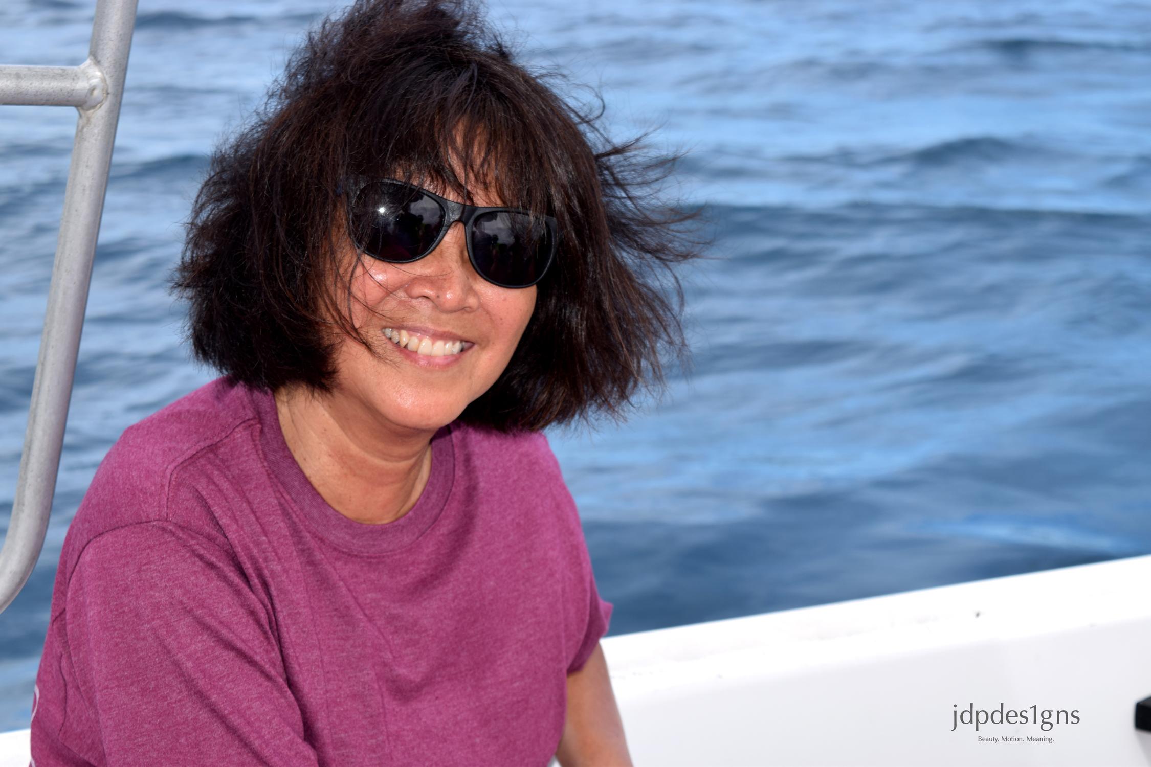 Jacque on Boat to Eneko Resize.jpg