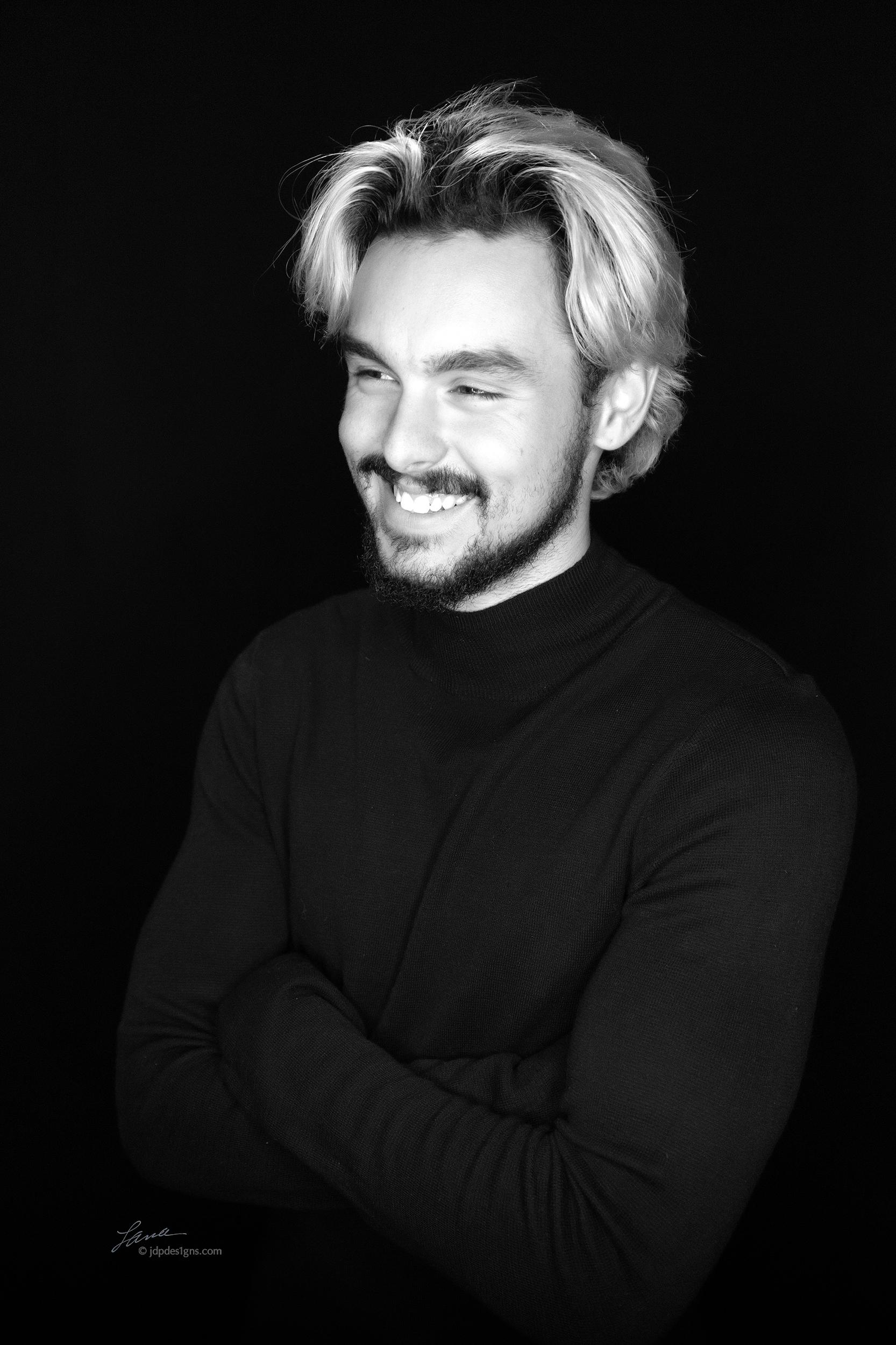 Davis Smile bw.jpg
