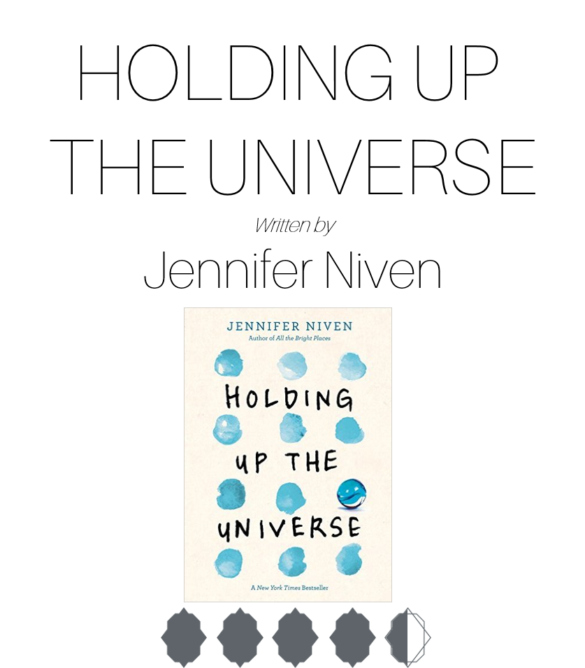 Book Review Holding Up The Universe Halaina K