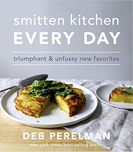 Smitten Kitchen Every Day: triumphant & unfussy favorites   October 24th  Cookbook  I love Deb and her Instagram story. Her  s  alted chocolate chunk cookies  are a staple in my freezer and honestly the easiest way to make friends.