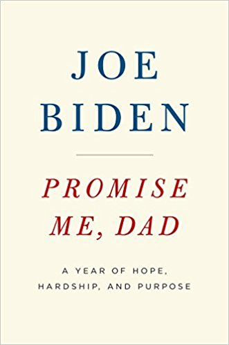 Promise Me, Dad; Joe Biden    November 14  Memoir  I have such a soft spot for Joe Biden, and I always love when people in power share about their lives and personal struggles. This book starts with the revelation of his son's terminal cancer and the year that followed.