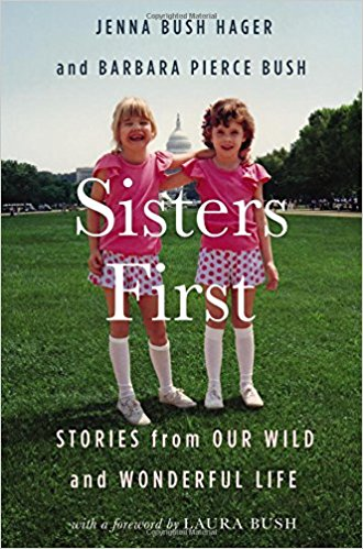Sisters First: stories from our wild and wonderful life; Jenna Bush Hager and Barbara Pierce Bush   October 24th  Memoir  Three of my favorite things: Sisters (in matching outfits no less), politics, and a glimps into the lives of people in the public eye. I am hoping that this will be fascinating and heartfelt.