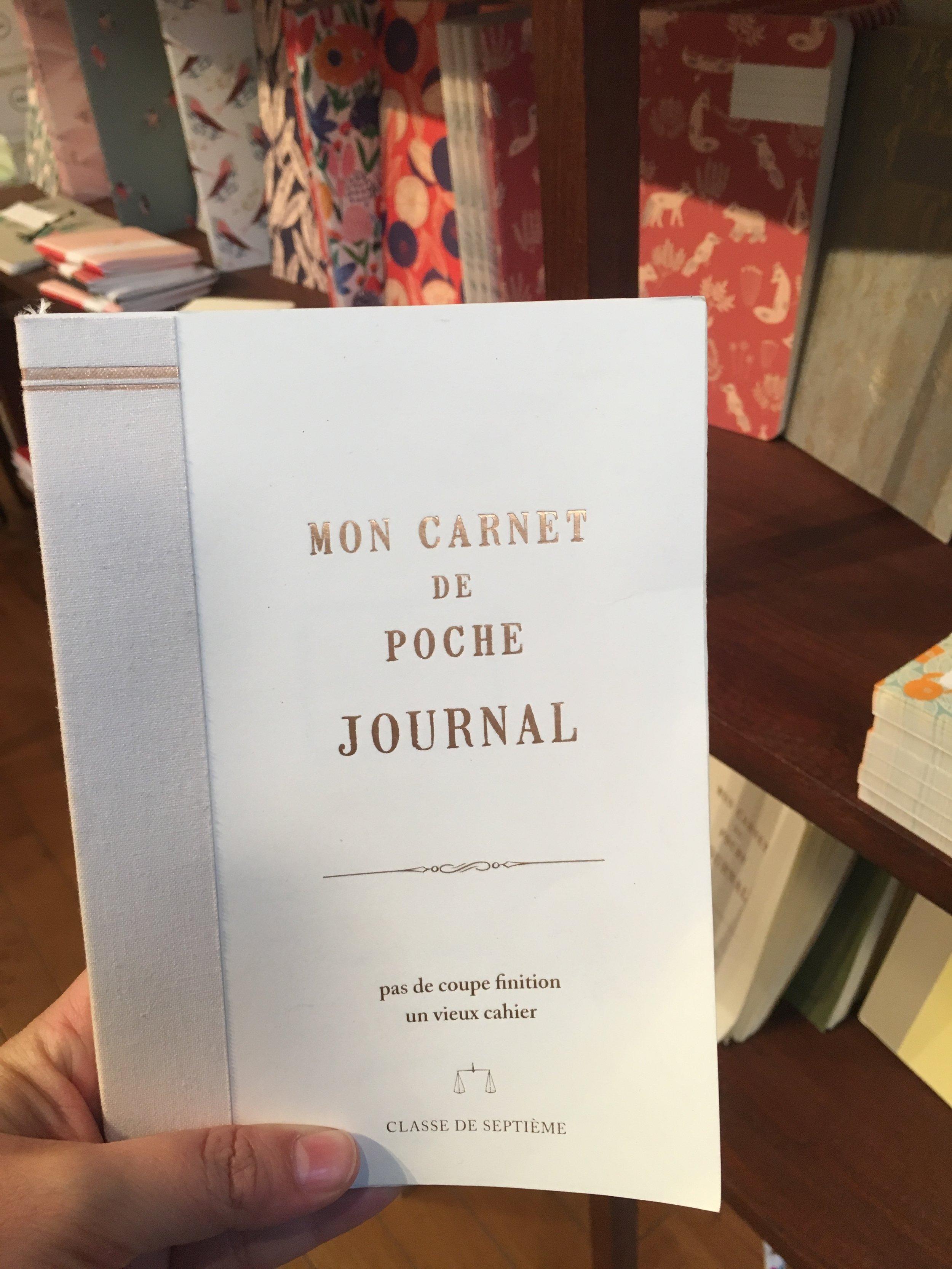 Mon Carnet de Poche Journals