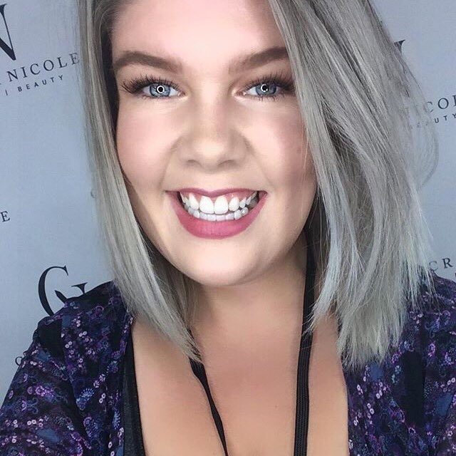 """""""My current fave foundation is  Dermablend Professional's SMOOTH Liquid Camo . Amazing coverage for my skin (no concealer needed!) but doesn't feel heavy at all and it even has SPF 25. A setting powdery is key, Dermablend's or your fave brand, but it's worth it - doesn't budge at all."""""""