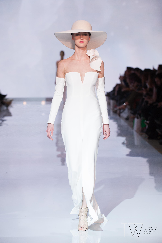 Di Carlo Coutureimage courtesy of Toronto Women's Fashion Week