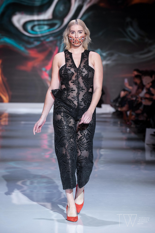 Lesley Hampton image courtesy of Toronto Women's Fashion Week