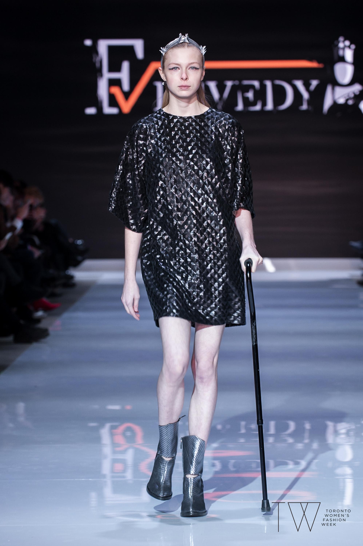 Fesvedy image courtesy of Toronto Women's Fashion Week