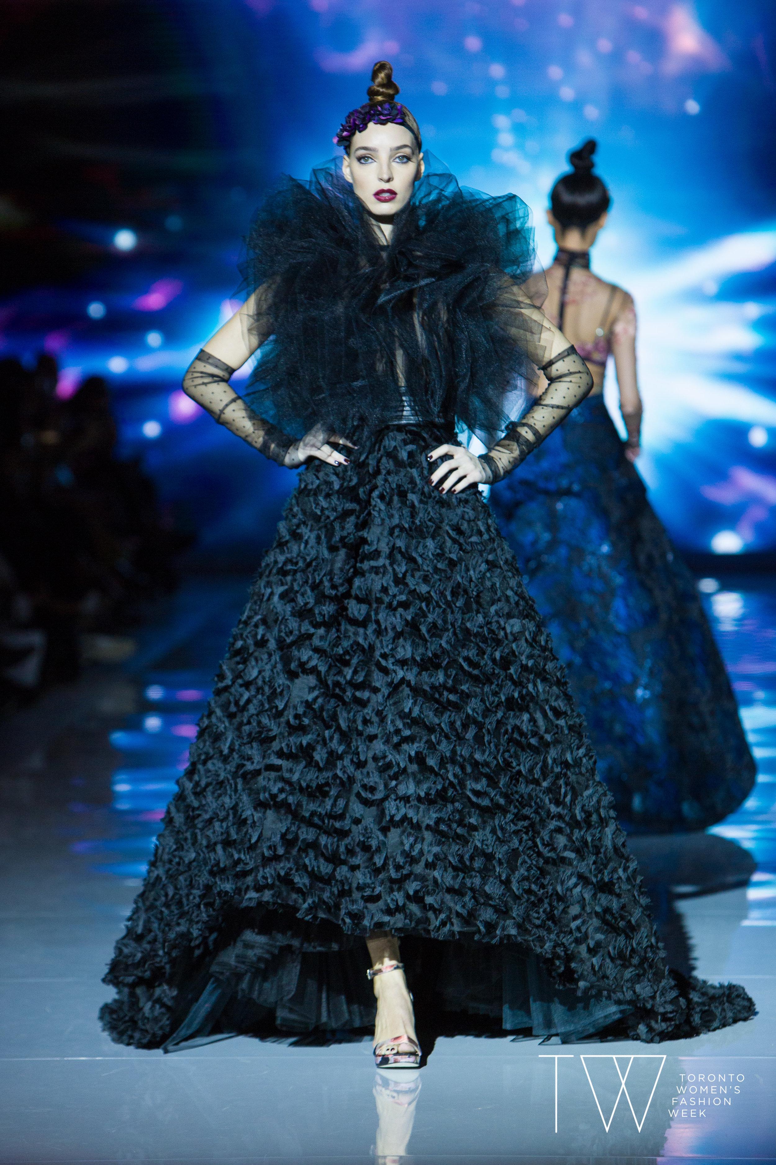 Stephan Caras image courtesy of Toronto Women's Fashion Week