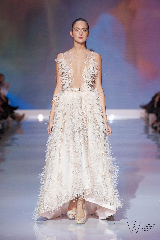 Di Carlo Couture image courtesy of Toronto Women's Fashion Week