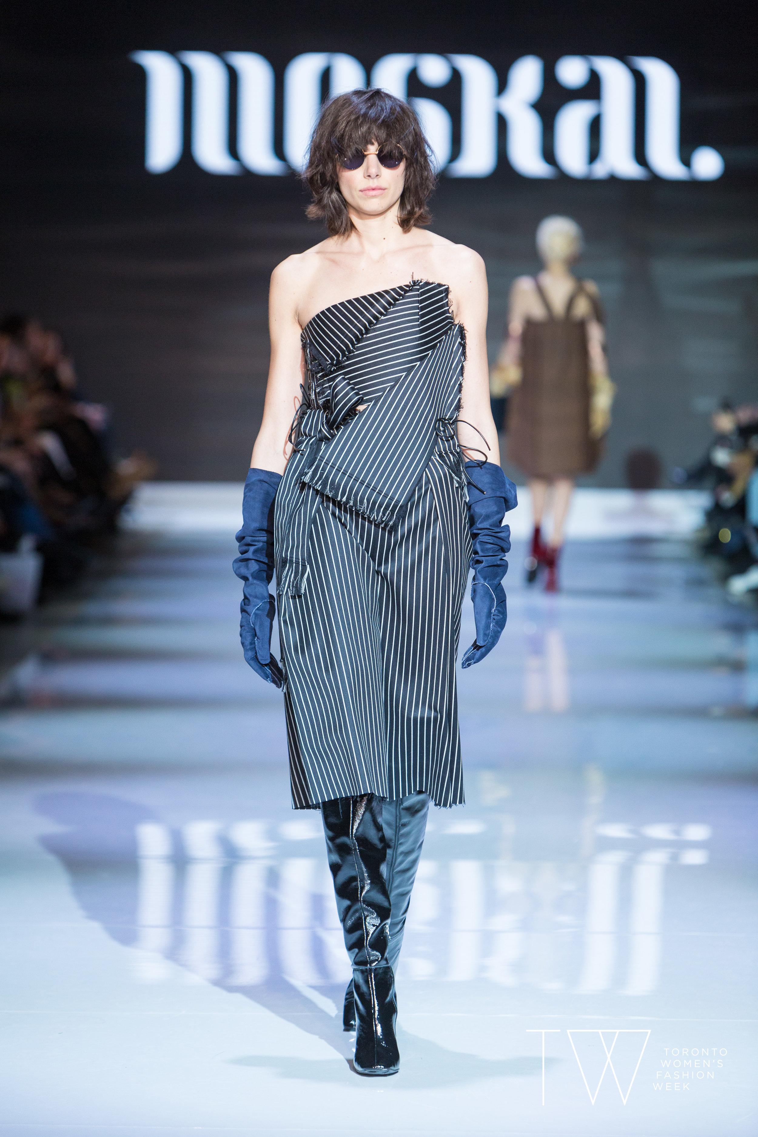 Moskal image courtesy of Toronto Women's Fashion Week
