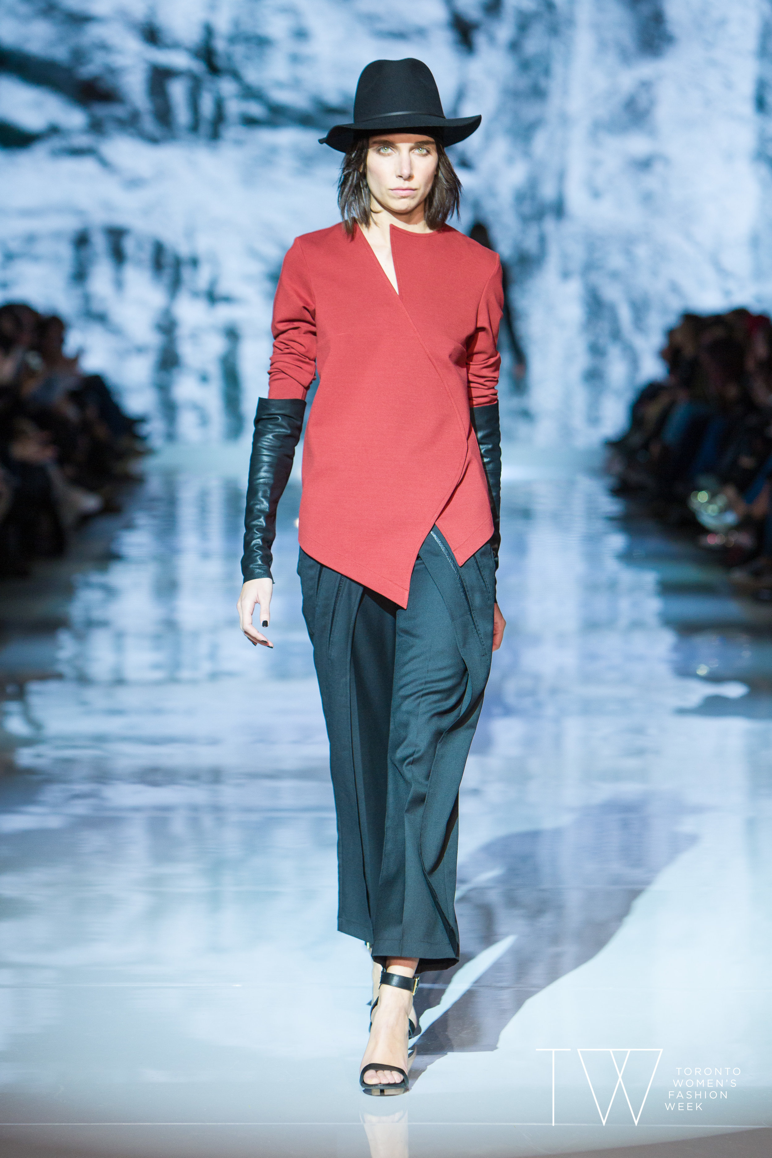 KQK image courtesy of Toronto Women's Fashion Week