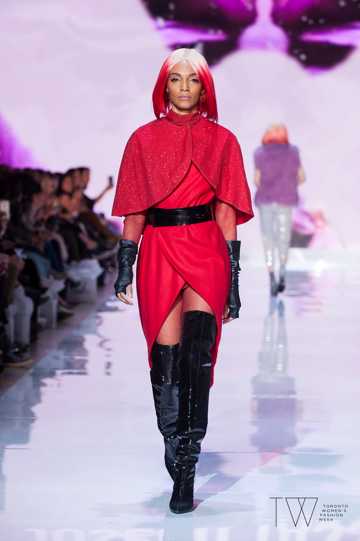 Joseph Tassoni image courtesy of Toronto Women's Fashion Week