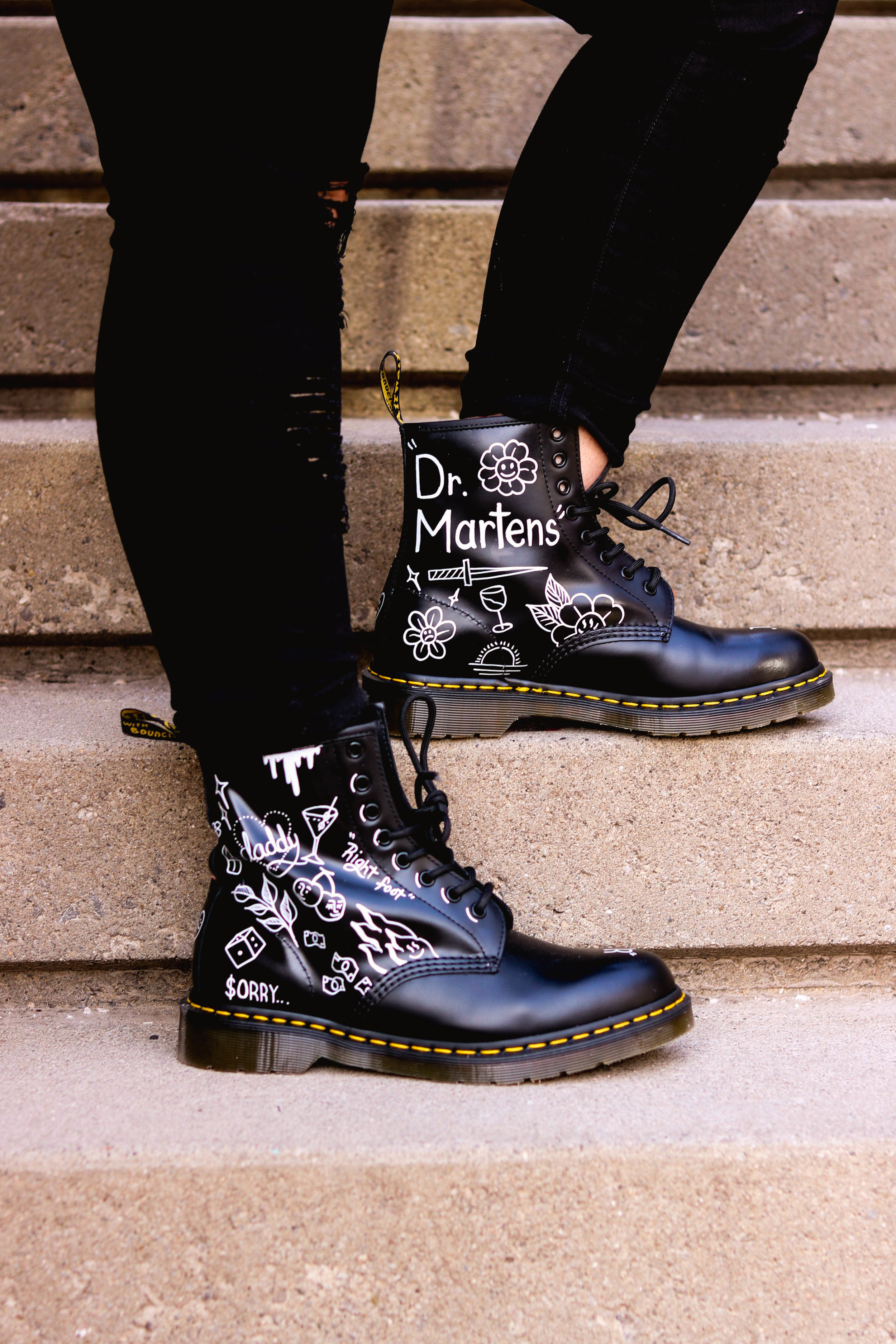Custom Dr Martens By Mr Koo The Prep Gal