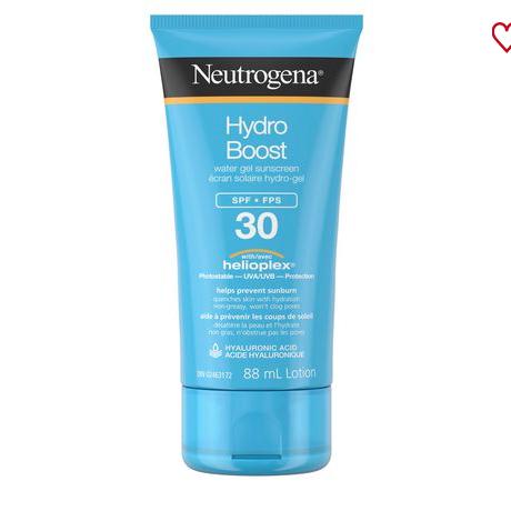 Neutrogena HydroBoost Sunscreen