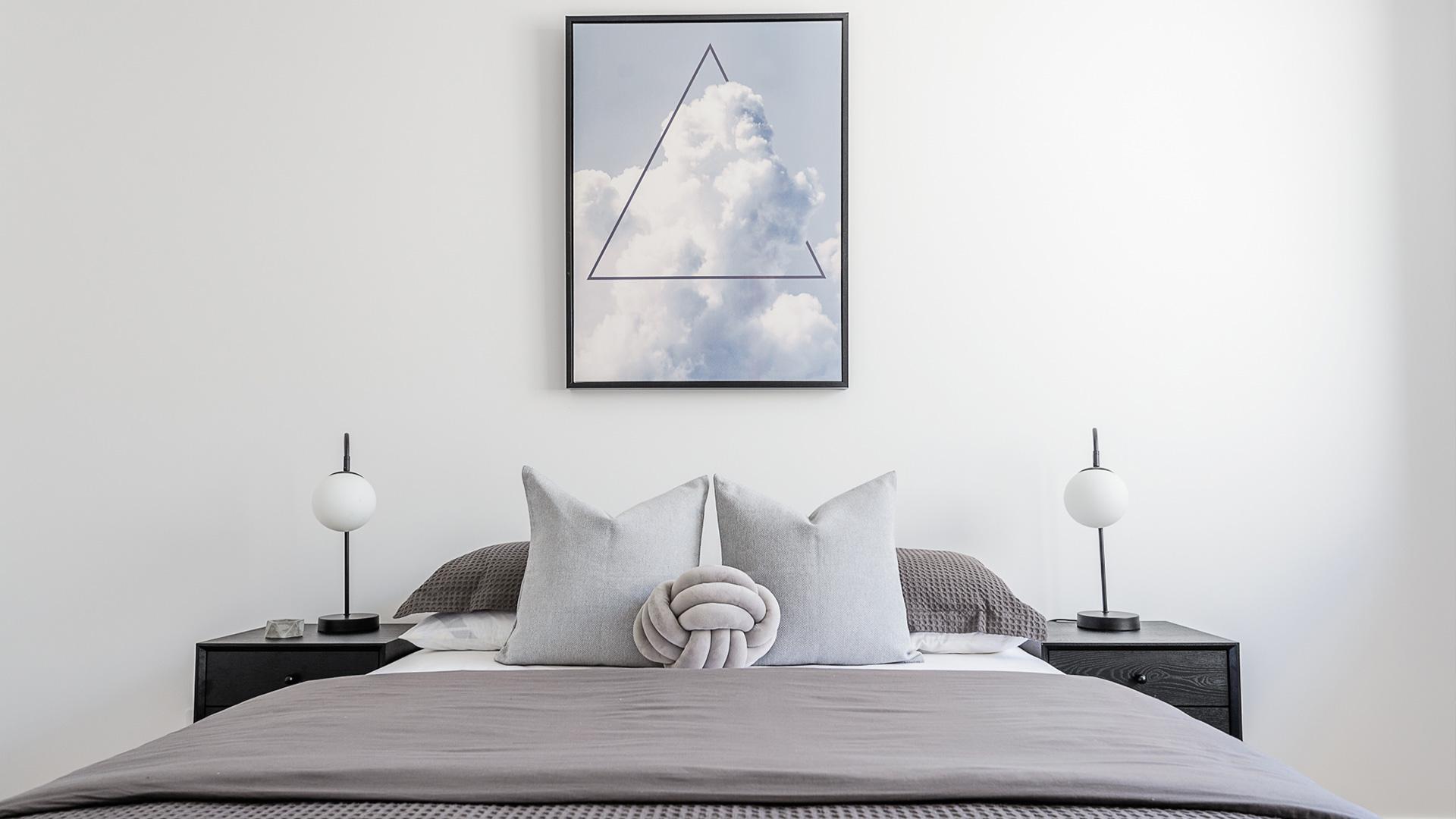 perth builder contemporary bedroom