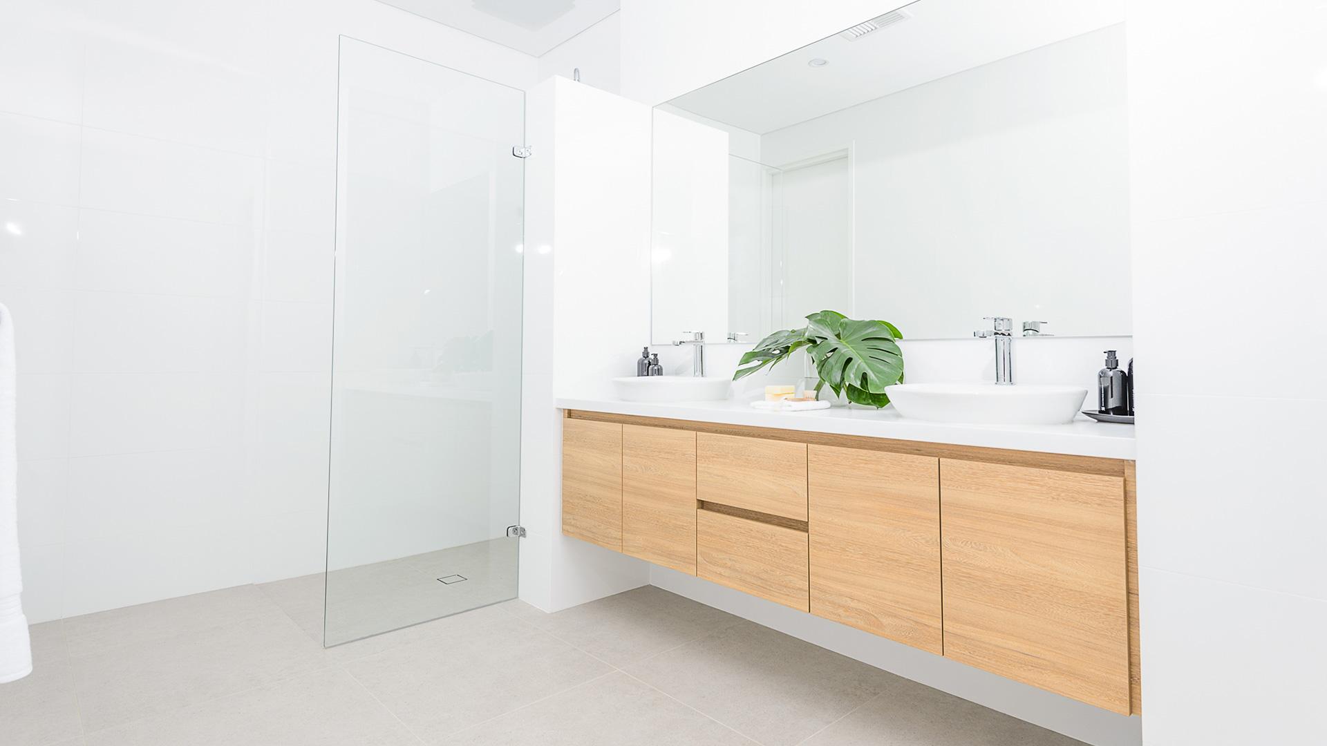 perth builder contemporary bathroom