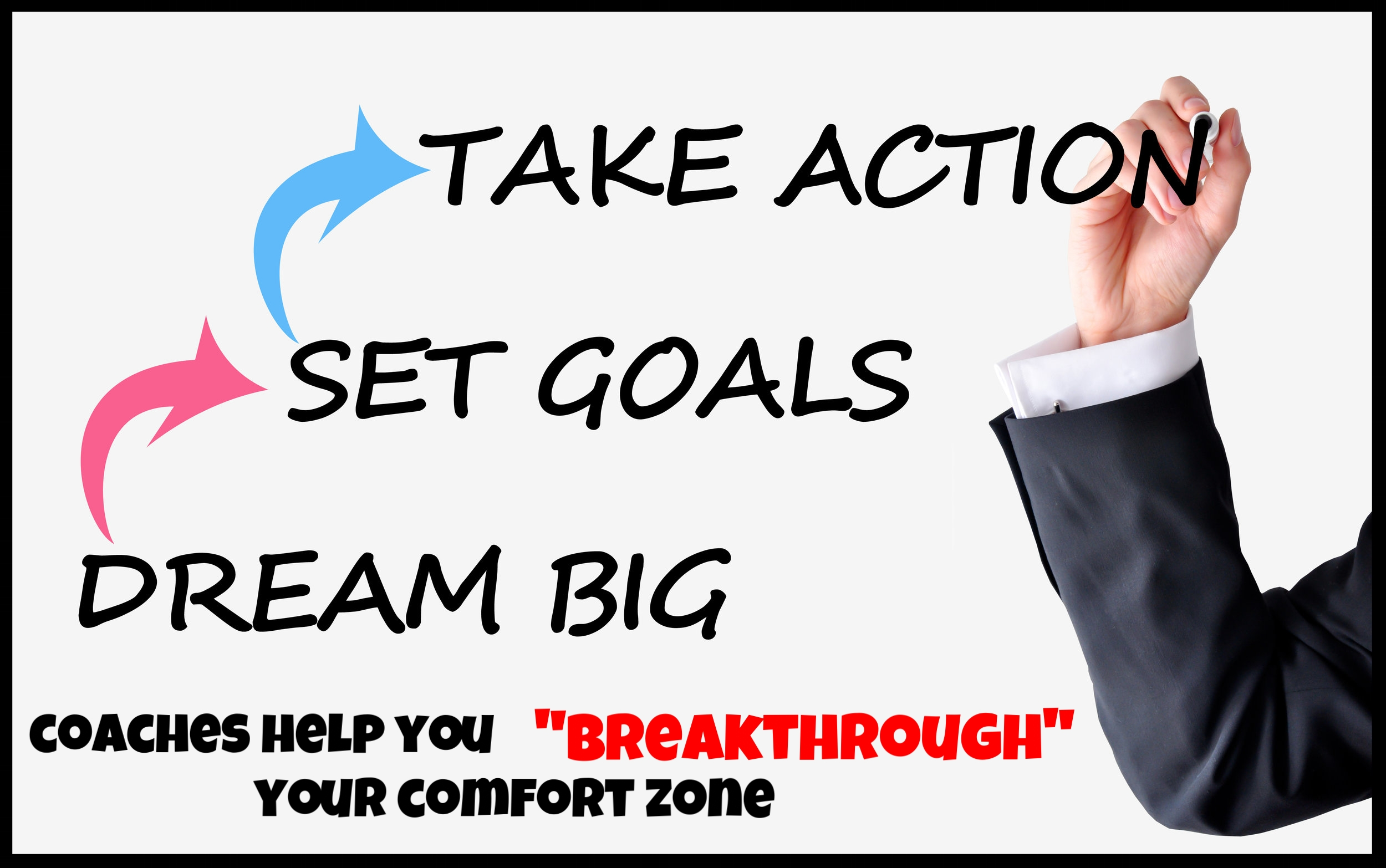 Take Massive and Immediate Action            on your goals Everyday!