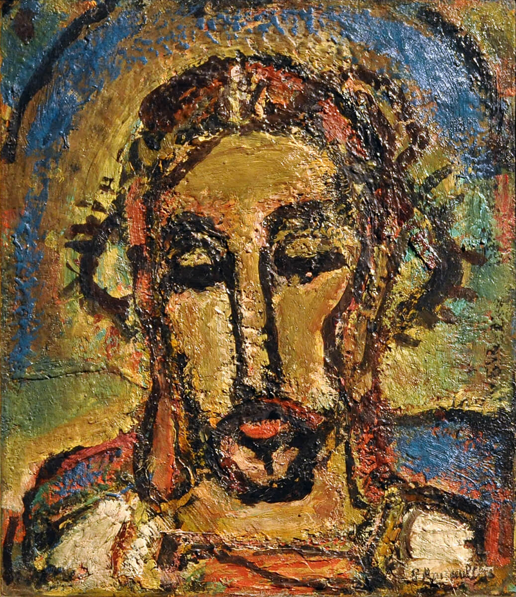 Ecce Homo  de Georges Rouault, 1871-1958