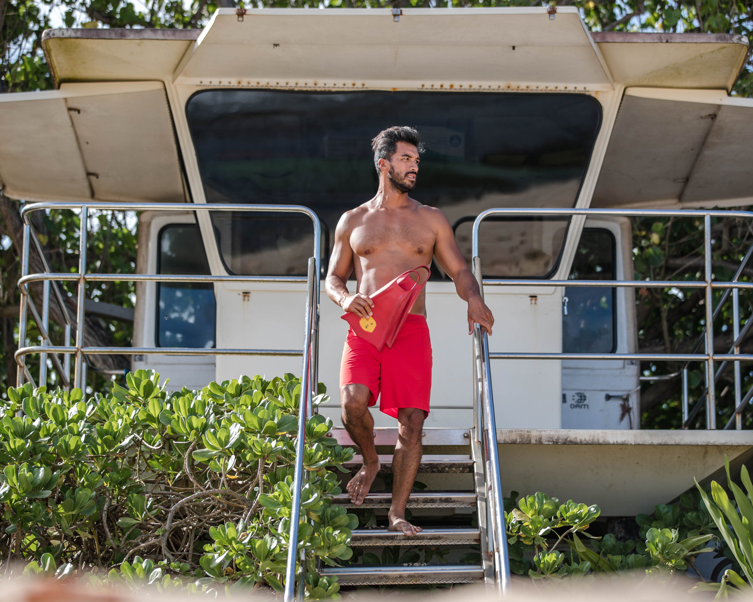 Kamu Davis. Lifeguard Stannd 20x16.jpg