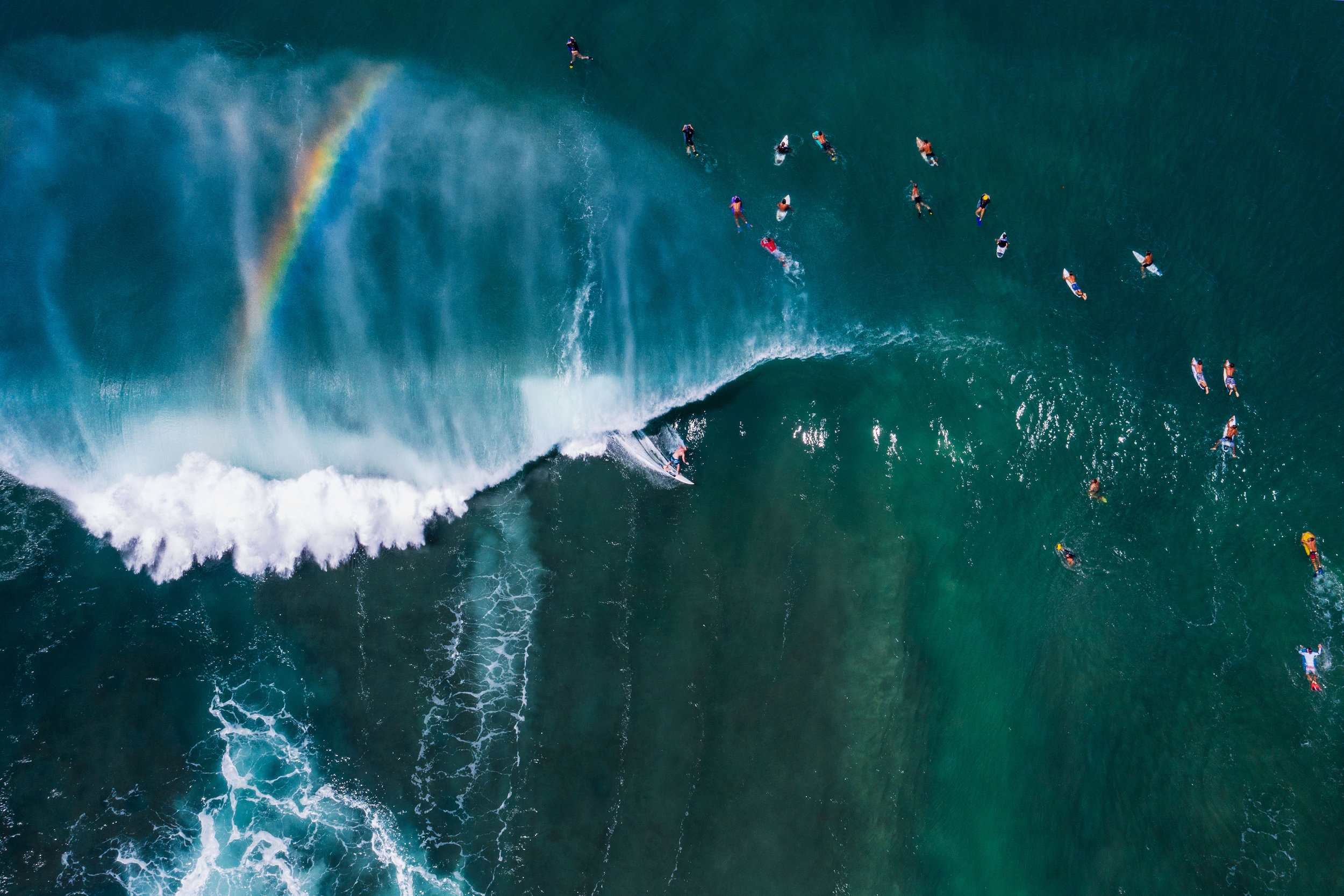connor trimble hawaii drone surfing photography