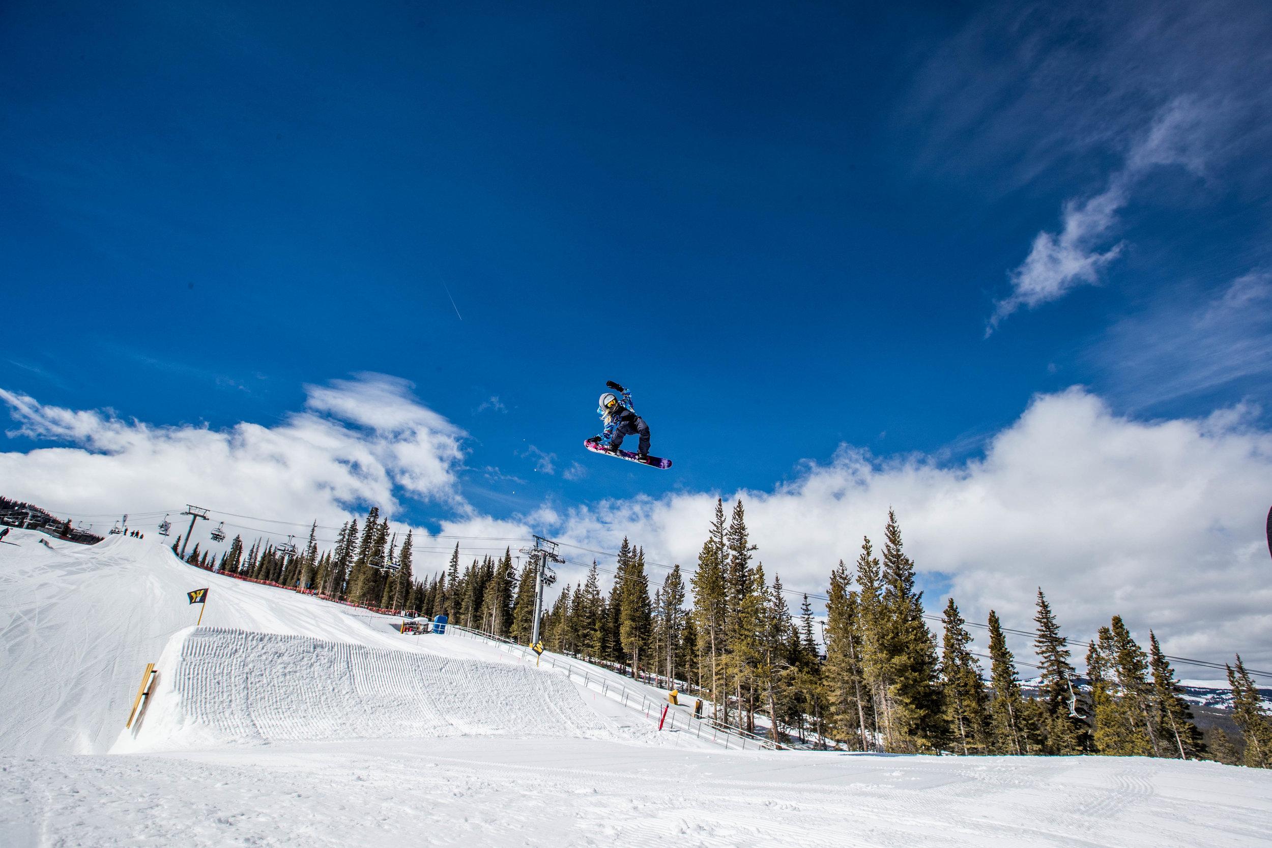snowboard colorado big air