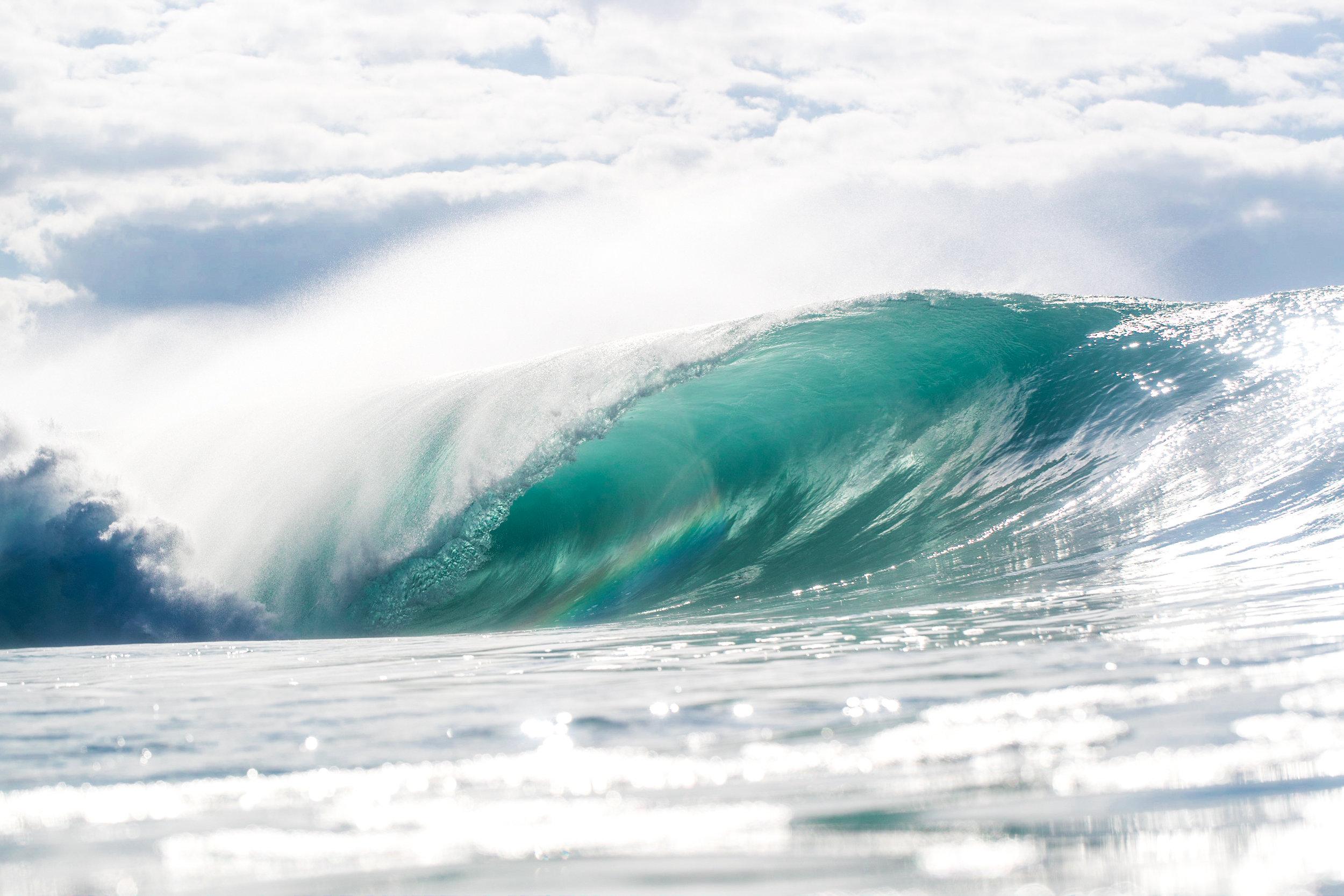 Pipeline empty wave barrel