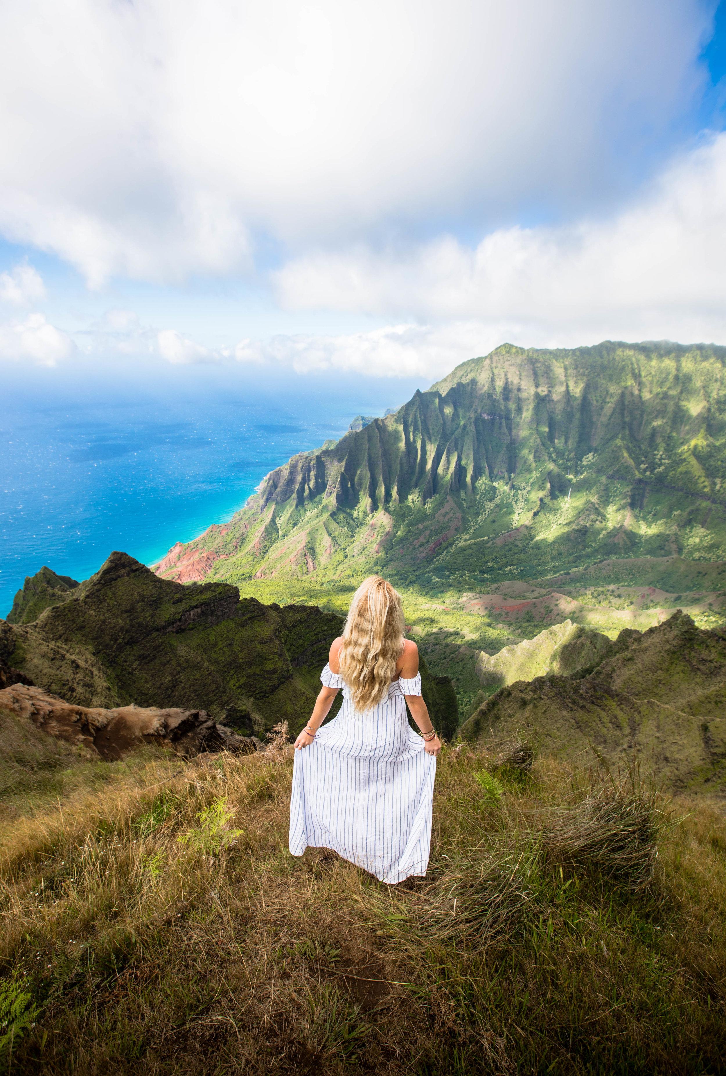Hawaii ridge line by Connor Trimble