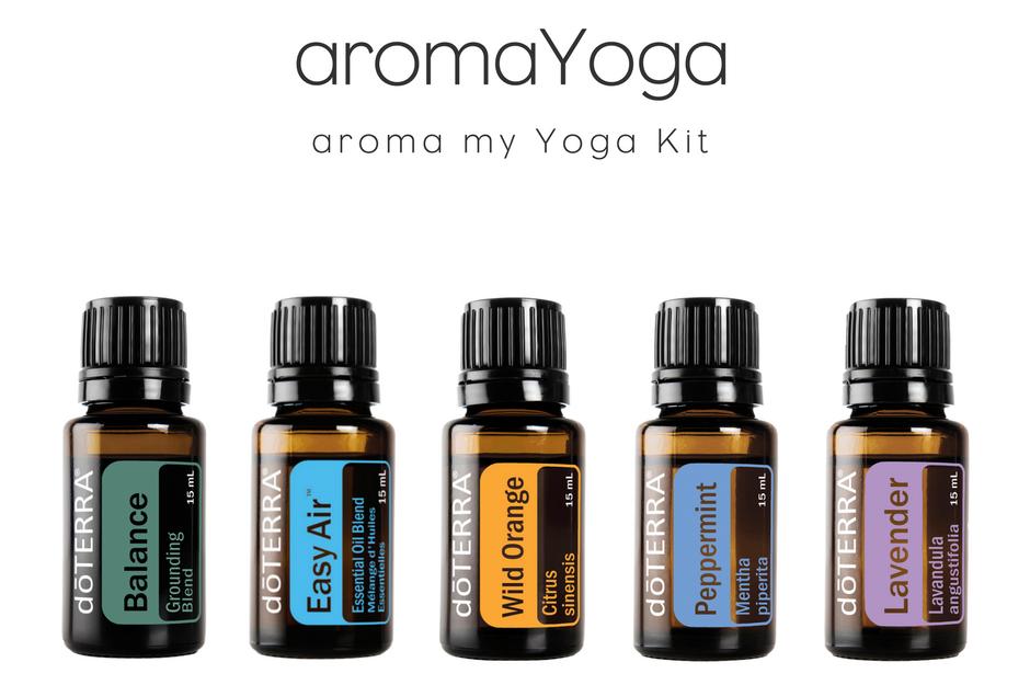 aromaLife essential oil yoga kit