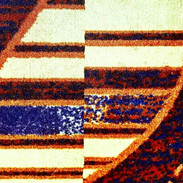 @rottenart  Analog Glitch 2018  #art #found #carpet #artistsoninstagram #glitch #weave #pattern #mismatch #color #texture #analog #gutterballs #badart #rottenart