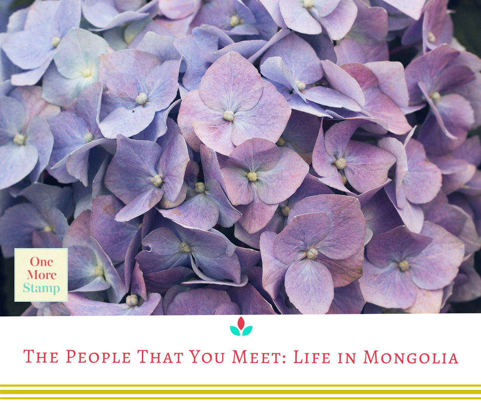 The people that you meet